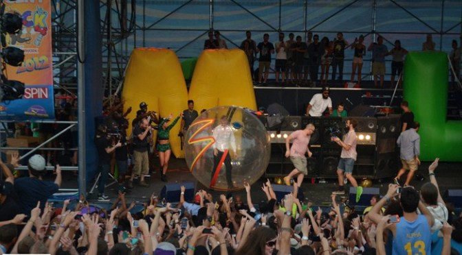 Mad Decent Block Party 2012: Great Plaza, Great Party