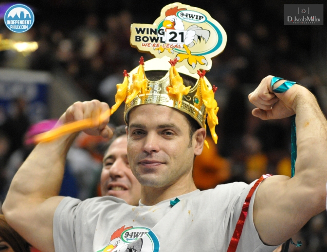 Wing Bowl 21: On a Wing And A Bear