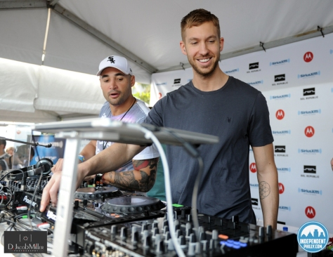 CALVIN HARRIS at MMW 2013