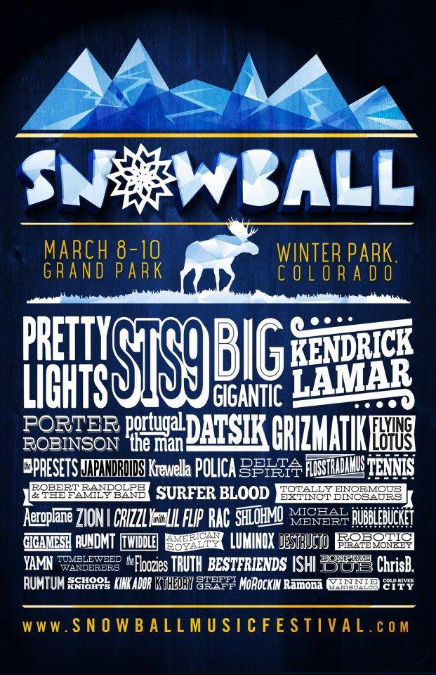Snowball Music Festival 2013
