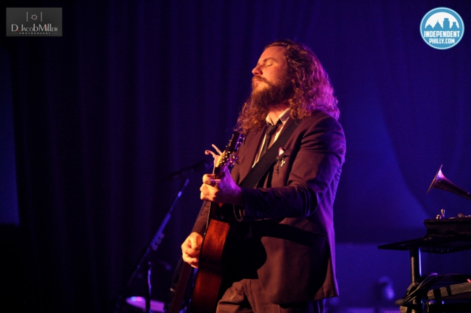 Jim James Performs for a Sold-Out T-Shirt Clad Crowd at Union Transfer